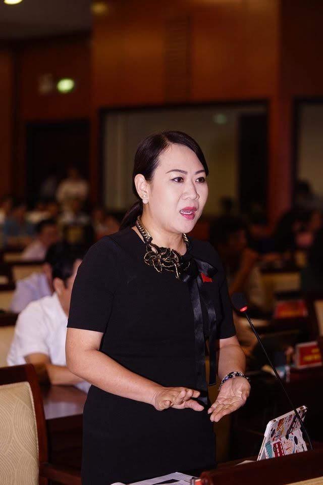 Bà Phan Thị Hồng Xuân (Ảnh: Phạm Nguyễn)