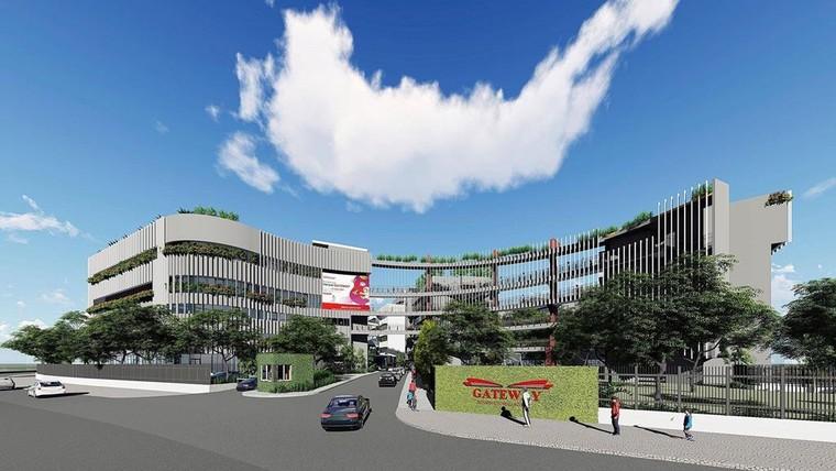 Mới đây, trường đã công bố bản thiết kế dự án Gate Way Hồ Tây