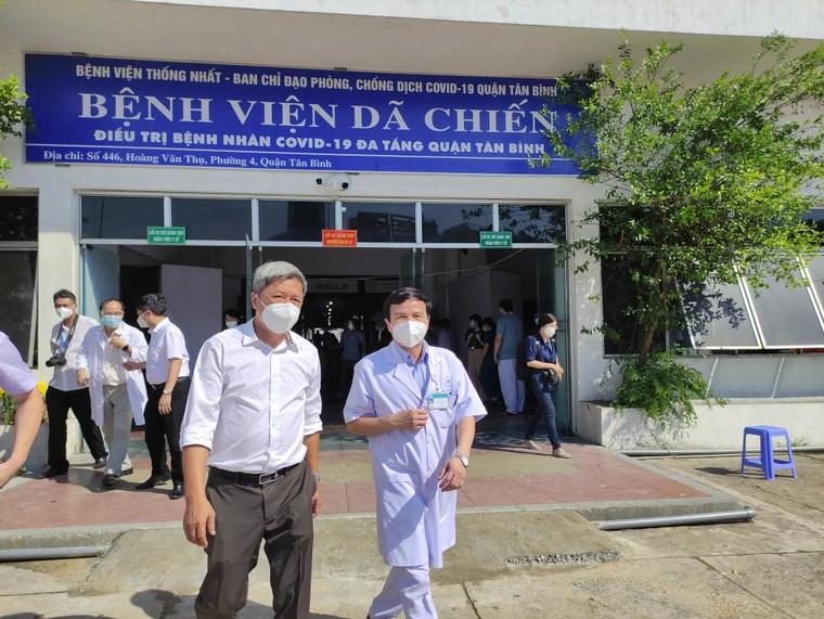 Bệnh viện dã chiến, hy vọng, sẽ được thu hẹp dần ảnh 2
