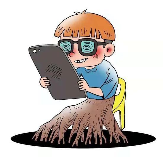 Trẻ em nông thôn Trung Quốc ngày càng... nghiện điện thoại ảnh 2