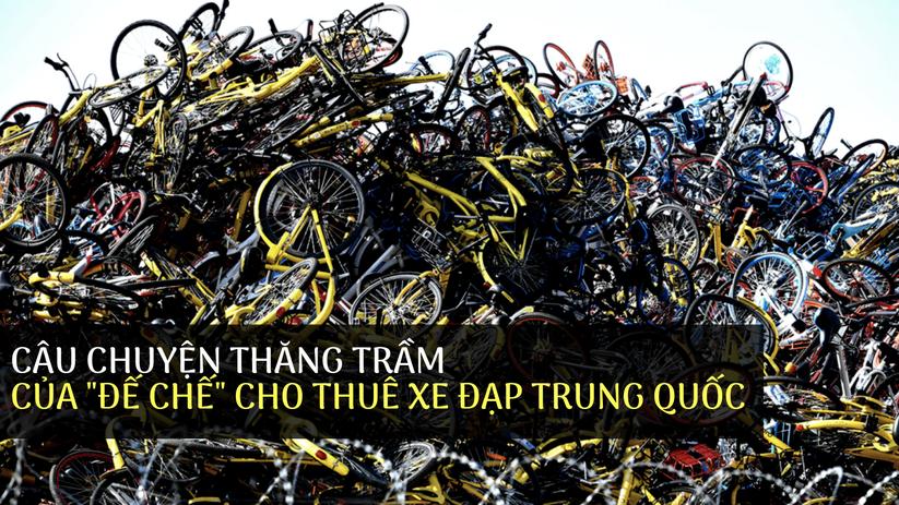 """Câu chuyện thăng trầm của """"đế chế"""" cho thuê xe đạp Trung Quốc ảnh 1"""