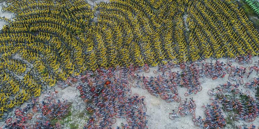 """Câu chuyện thăng trầm của """"đế chế"""" cho thuê xe đạp Trung Quốc ảnh 5"""