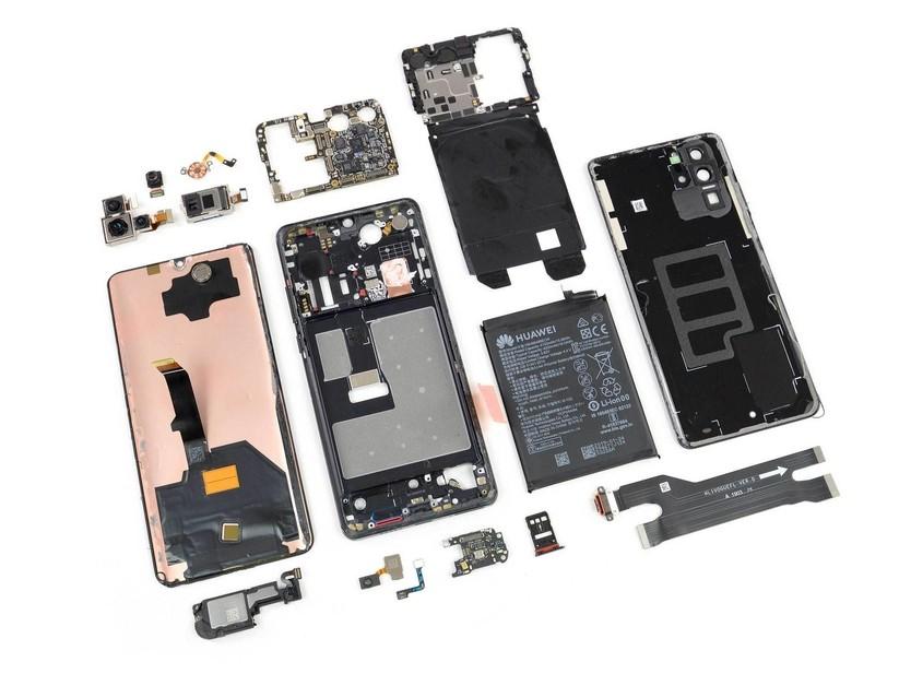 Mổ bụng P30 Pro để xem Huawei phụ thuộc vào nguồn linh kiện Mỹ đến đâu? ảnh 1