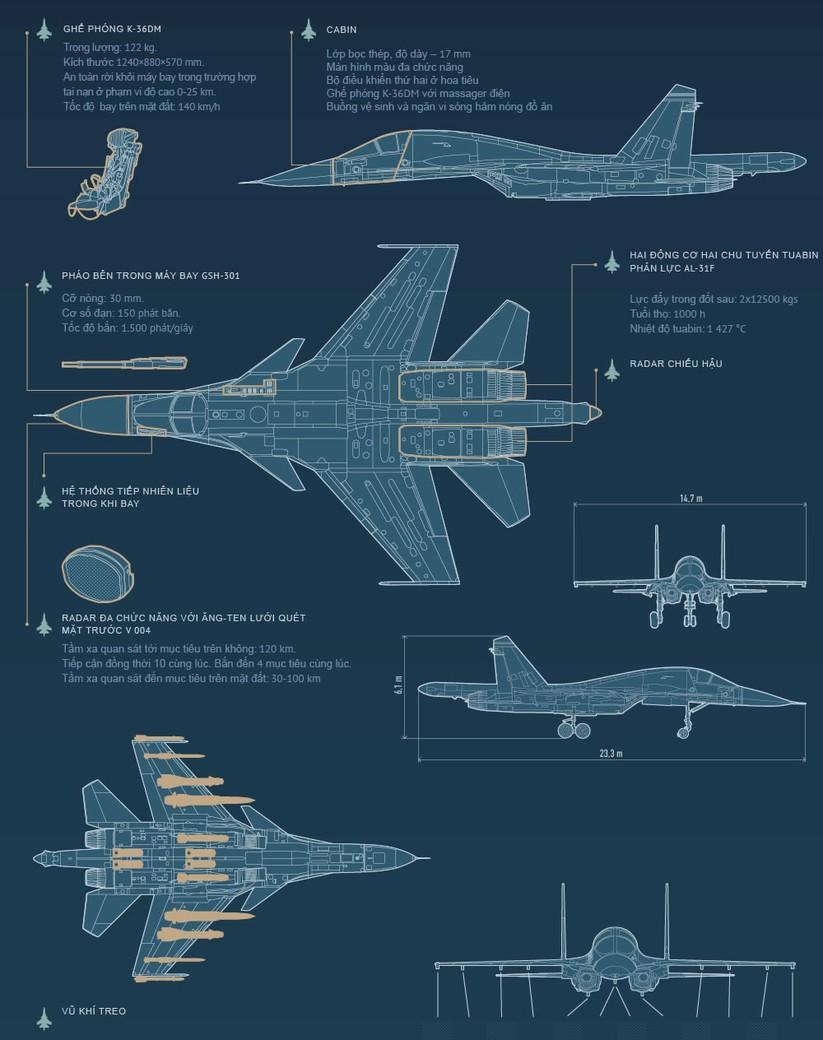"""""""Thú mỏ vịt"""" Su-34 có thể biến thành máy bay tác chiến điện tử ảnh 2"""