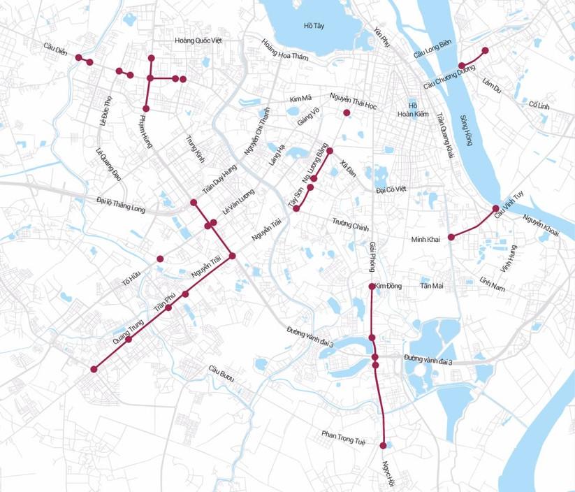 Những tuyến đường thường ùn tắc và ngập nước ở Hà Nội ảnh 1