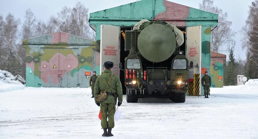Tên lửa đạn đạo liên lục địa Topol-M của Nga