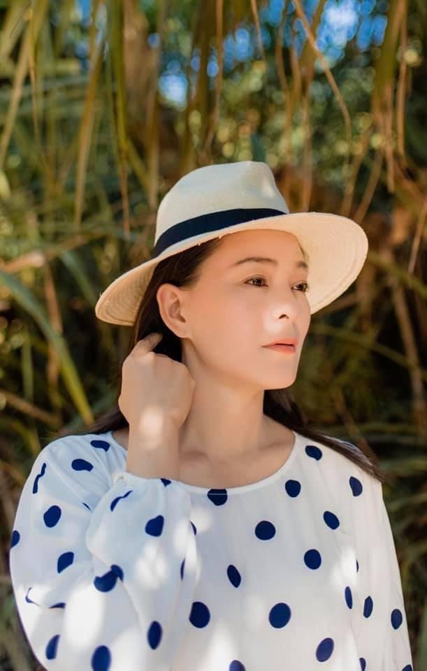 Những năm thập kỷ 90 thế kỷ trước, Trang Nhi được xem là cái tên sáng giá của làng thời trang Việt (ảnh NV cung cấp)