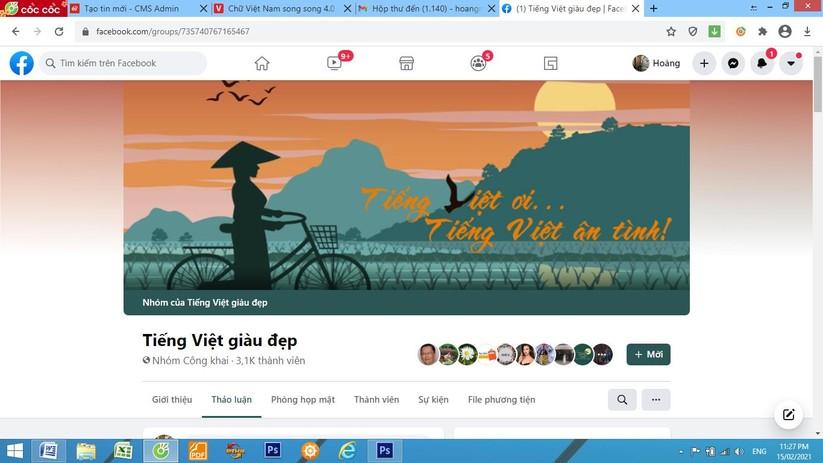 """""""Tiếng Việt giàu đẹp"""" sẽ trở thành một tổ chức hoạt động chuyên nghiệp ảnh 2"""
