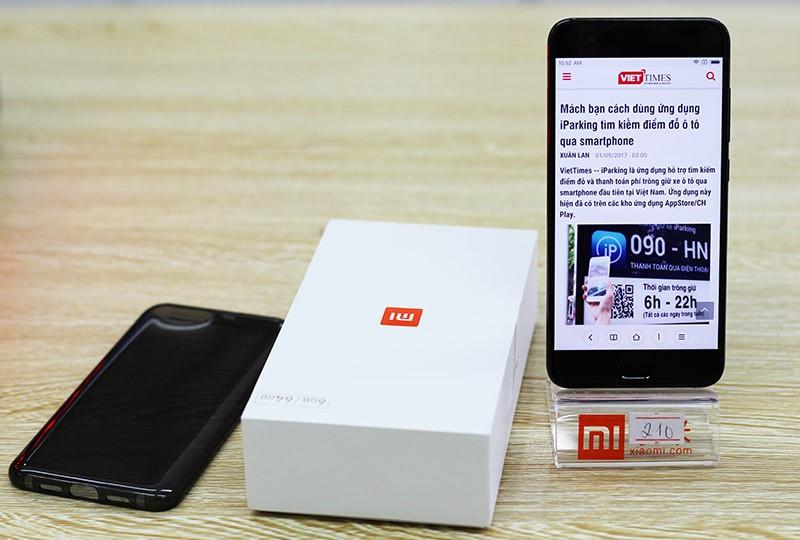HOT: Mở hộp Xiaomi Mi 6 đầu tiên về Việt Nam ảnh 19