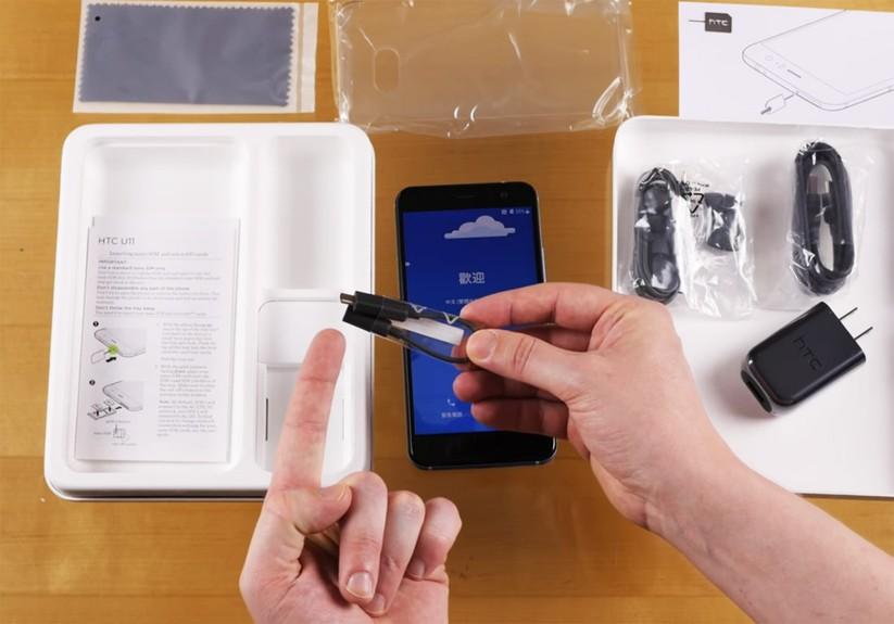 Mở hộp siêu phẩm HTC U 11 ảnh 9