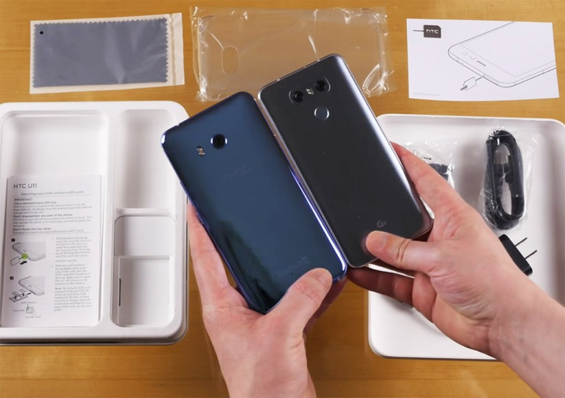 Mở hộp siêu phẩm HTC U 11 ảnh 13