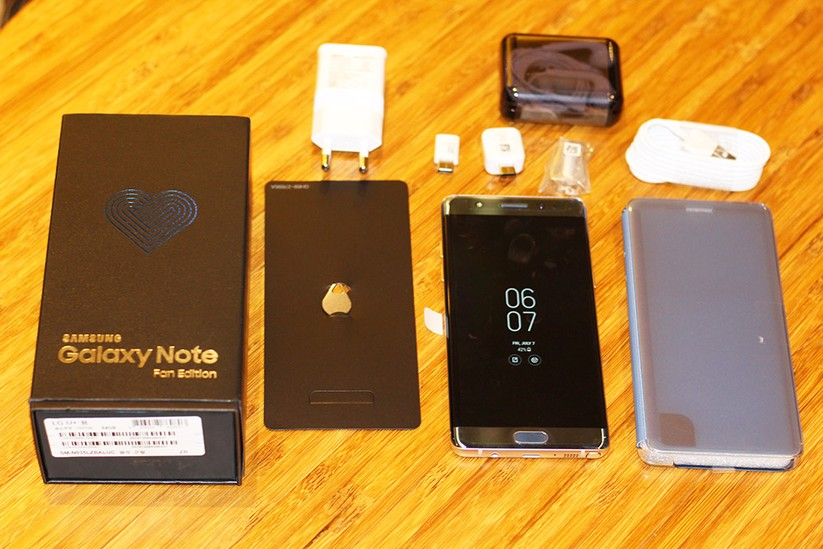 Cận cảnh Galaxy Note 7 tân trang đầu tiên về Việt Nam, giá 15 triệu đồng ảnh 2