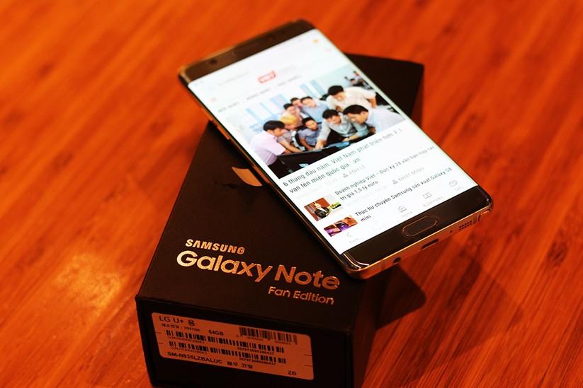 Cận cảnh Galaxy Note 7 tân trang đầu tiên về Việt Nam, giá 15 triệu đồng ảnh 5