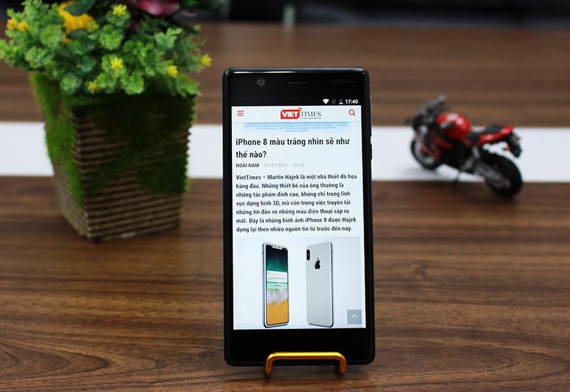 Trên tay Nokia 3: Smartphone giá rẻ, hiệu năng khá ảnh 2