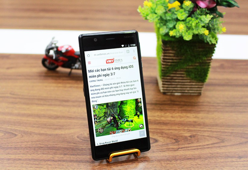 Trên tay Nokia 3: Smartphone giá rẻ, hiệu năng khá ảnh 3