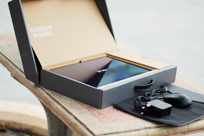 Trải nghiệm nhanh laptop mỏng nhẹ UX430 của Asus ảnh 1