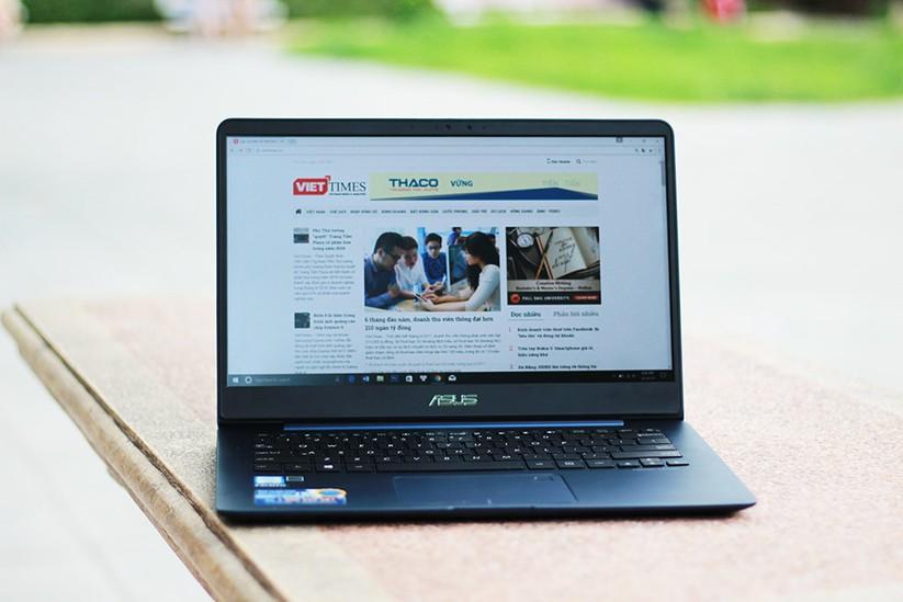 Trải nghiệm nhanh laptop mỏng nhẹ UX430 của Asus ảnh 10