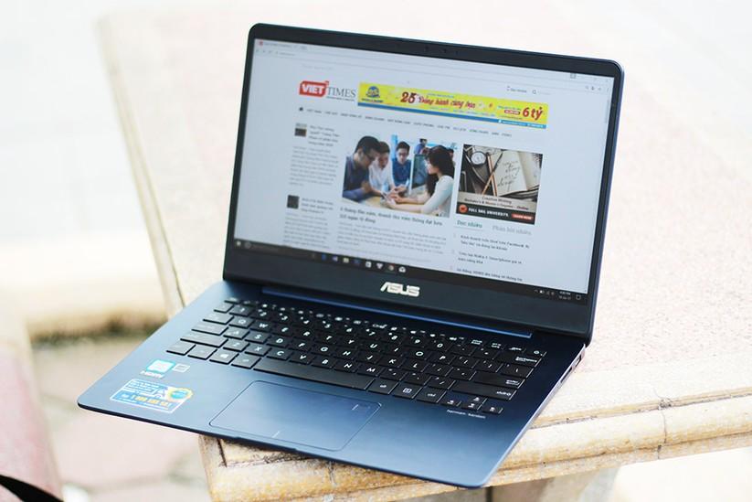 Trải nghiệm nhanh laptop mỏng nhẹ UX430 của Asus ảnh 11