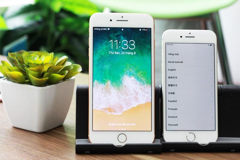 """iPhone 8 và iPhone 8 Plus """"cập bến"""" Việt Nam: nóng hổi vừa thổi vừa xem! ảnh 12"""