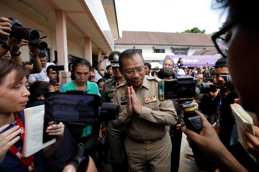 """Những hình ảnh ấn tượng về cuộc """"giải cứu hang động"""" ở Thái Lan ảnh 6"""