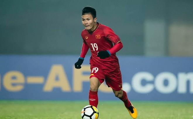 """Nguyễn Quang Hải đạt giải """"Cầu thủ xuất sắc nhất vòng bảng"""""""