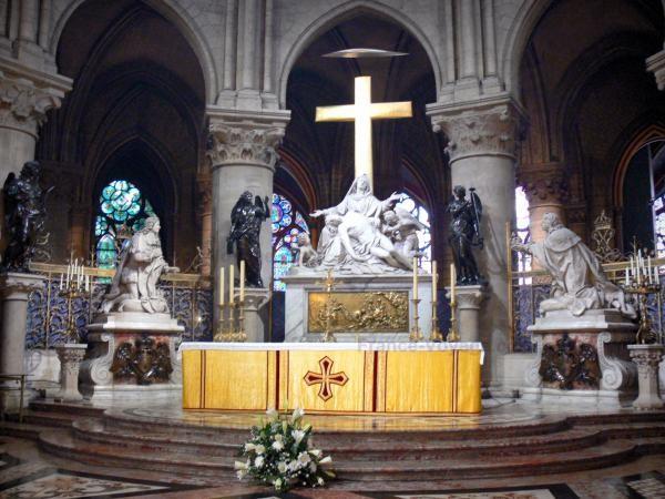 Chùm ảnh về vẻ đẹp của Nhà thờ Đức Bà Paris trước vụ hỏa hoạn làm sập mái vòm và tháp đêm 15/4 ảnh 17