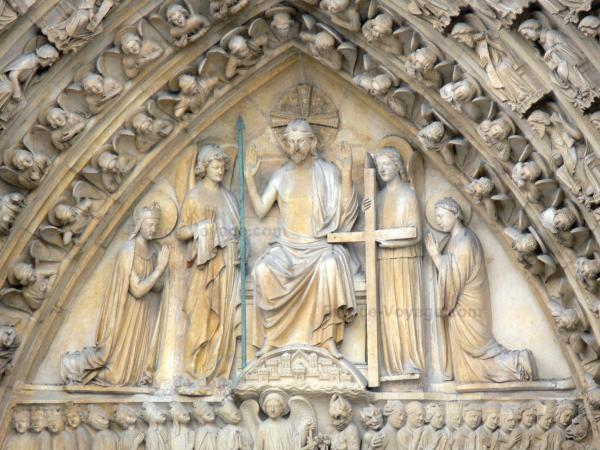 Chùm ảnh về vẻ đẹp của Nhà thờ Đức Bà Paris trước vụ hỏa hoạn làm sập mái vòm và tháp đêm 15/4 ảnh 36
