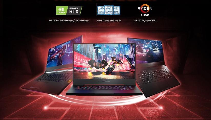 Asus công bố dải laptop gaming cấu hình rất mạnh với chip Core i9 thế hệ thứ 9 và đồ họa NVIDIA GeForce GTX 16-Series ảnh 1