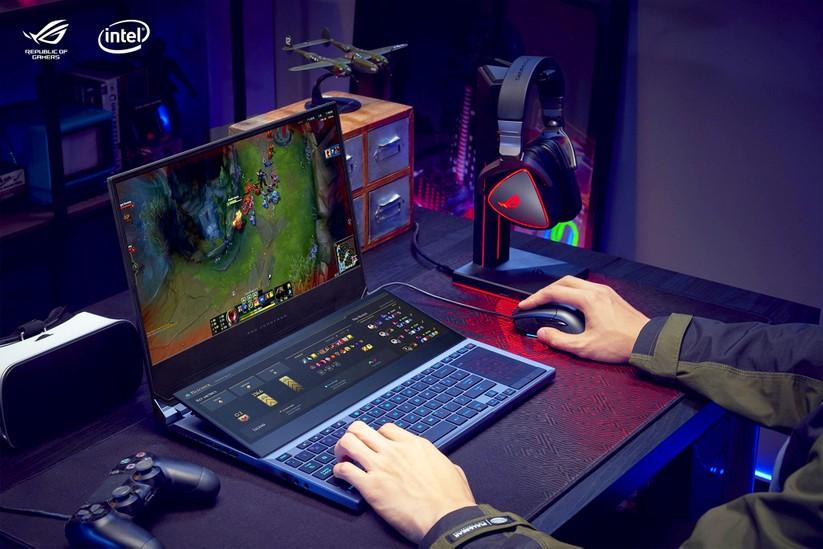 """ROG Zephyrus Duo 15 – laptop gaming 2 màn hình """"cực độc"""" ra mắt tại Việt Nam ảnh 2"""