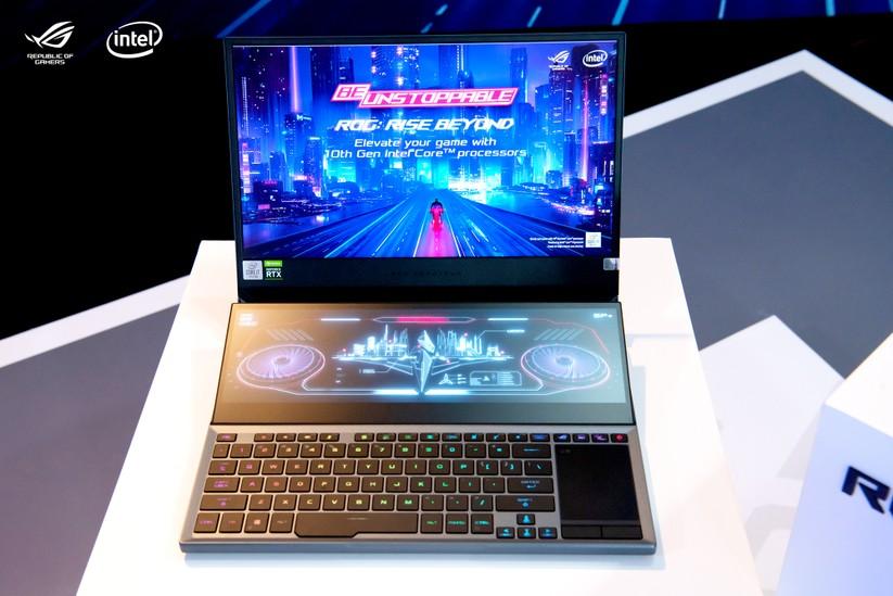 """ROG Zephyrus Duo 15 – laptop gaming 2 màn hình """"cực độc"""" ra mắt tại Việt Nam ảnh 1"""