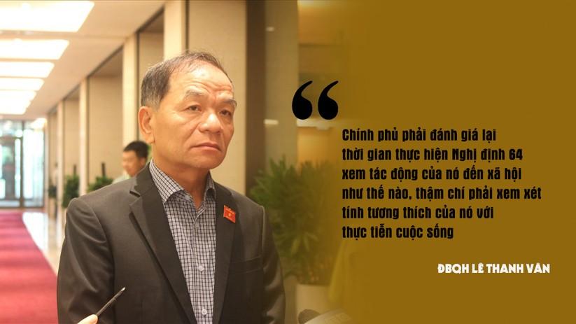 """ĐBQH Lê Thanh Vân: """"Cần cơ chế ít rườm rà để cá nhân cứu trợ mà không vi phạm Nghị định 64"""" ảnh 1"""