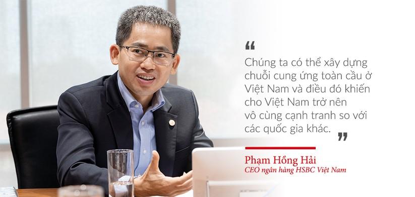 CEO ngân hàng HSBC Việt Nam, Phạm Hồng Hải