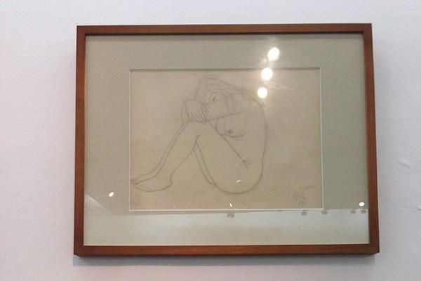 """Ngắm tranh nude của họa sỹ tiền bối ghi lại """"da thịt Việt"""""""