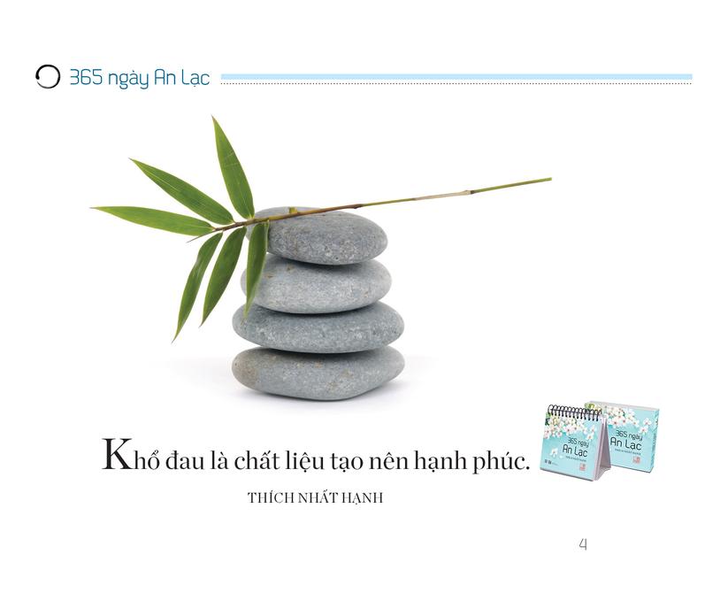 """Đón năm mới với bộ sách để bàn đầu tiên của Thiền sư Thích Nhất Hạnh """"365 ngày an lạc, yêu thương"""" ảnh 3"""