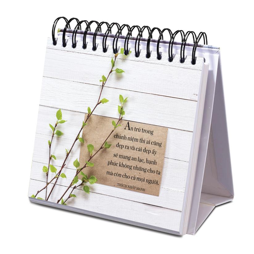 """Đón năm mới với bộ sách để bàn đầu tiên của Thiền sư Thích Nhất Hạnh """"365 ngày an lạc, yêu thương"""" ảnh 4"""