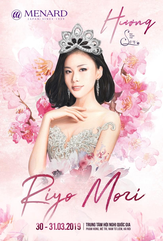 Hoa hậu Hoàn vũ Thế giới Riyo Mori