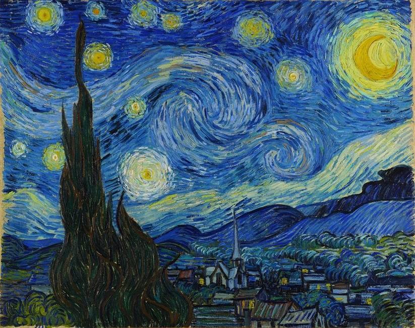 Ngạc nhiên với phiên bản số những kiệt tác của danh họa Van Gogh ảnh 3