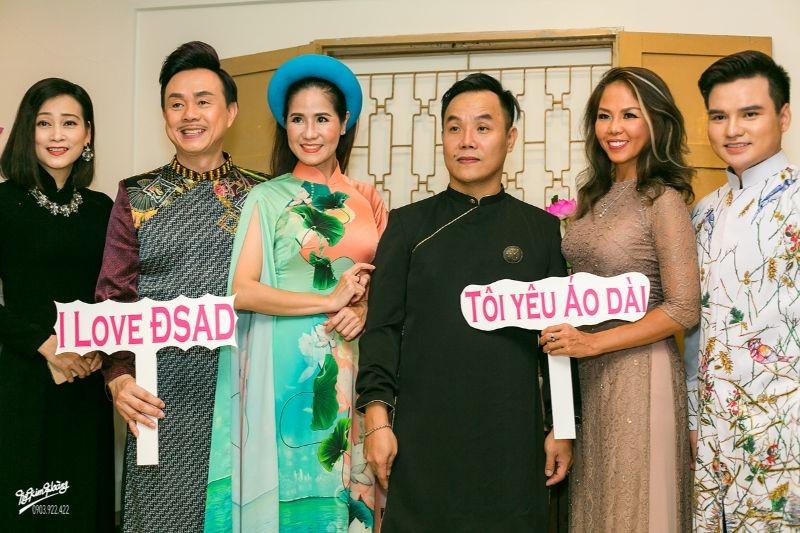 Hoa hậu Hà Kiều Anh, diễn viên Thúy Nga làm đại sứ Người mẫu áo dài ảnh 9
