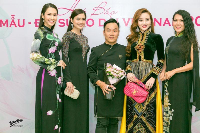 Hoa hậu Hà Kiều Anh, diễn viên Thúy Nga làm đại sứ Người mẫu áo dài ảnh 2