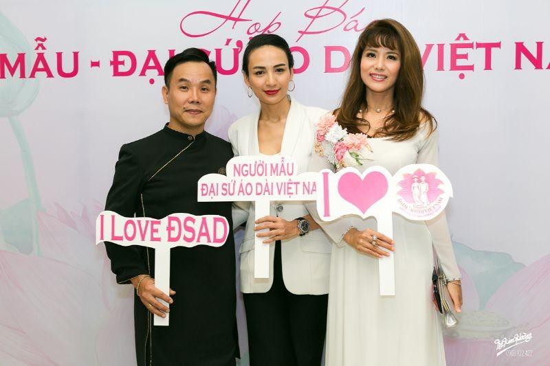 Hoa hậu Hà Kiều Anh, diễn viên Thúy Nga làm đại sứ Người mẫu áo dài ảnh 11