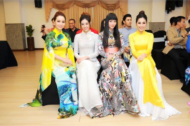 Hoa hậu Hà Kiều Anh, diễn viên Thúy Nga làm đại sứ Người mẫu áo dài ảnh 8