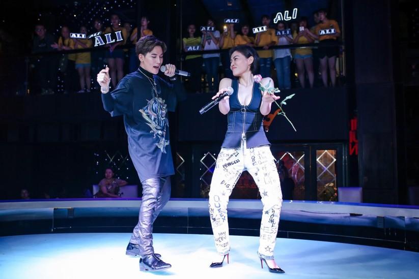 """""""Nữ hoàng"""" nhạc dance Thu Minh song ca """"máu lửa"""" cùng học trò Ali Hoàng Dương ảnh 9"""