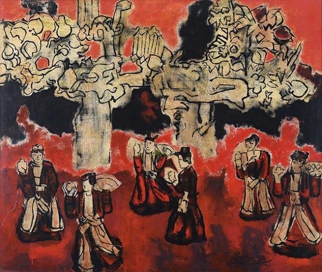 Hai tranh khỏa thân của Lê Phổ bán hơn 44 tỉ đồng ảnh 7