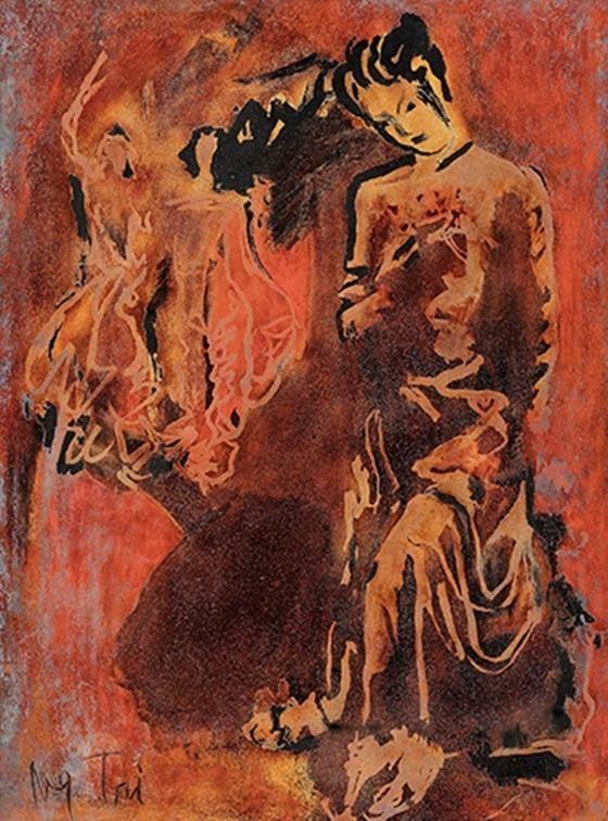 Hai tranh khỏa thân của Lê Phổ bán hơn 44 tỉ đồng ảnh 5