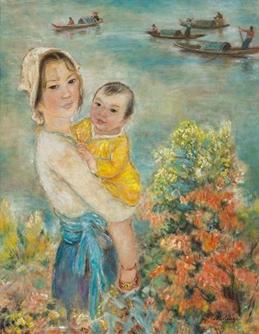 Hai tranh khỏa thân của Lê Phổ bán hơn 44 tỉ đồng ảnh 6
