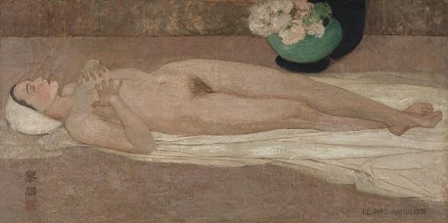 Hai tranh khỏa thân của Lê Phổ bán hơn 44 tỉ đồng ảnh 1