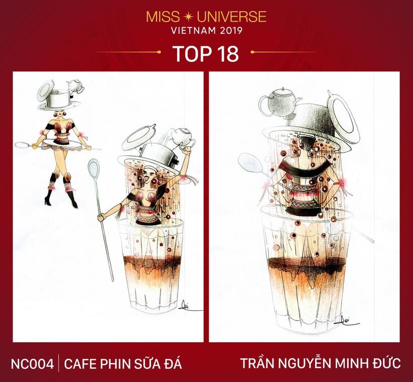 Cà phê sữa đá, xích lô, chuyện cổ sẽ vào trang phục Hoàng Thùy ảnh 8