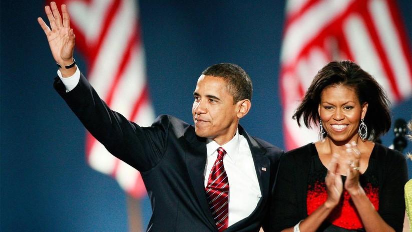 Cựu tổng thống Barack Obama và phu nhân Michelle tại bữa tiệc chia tay Nhà Trắng