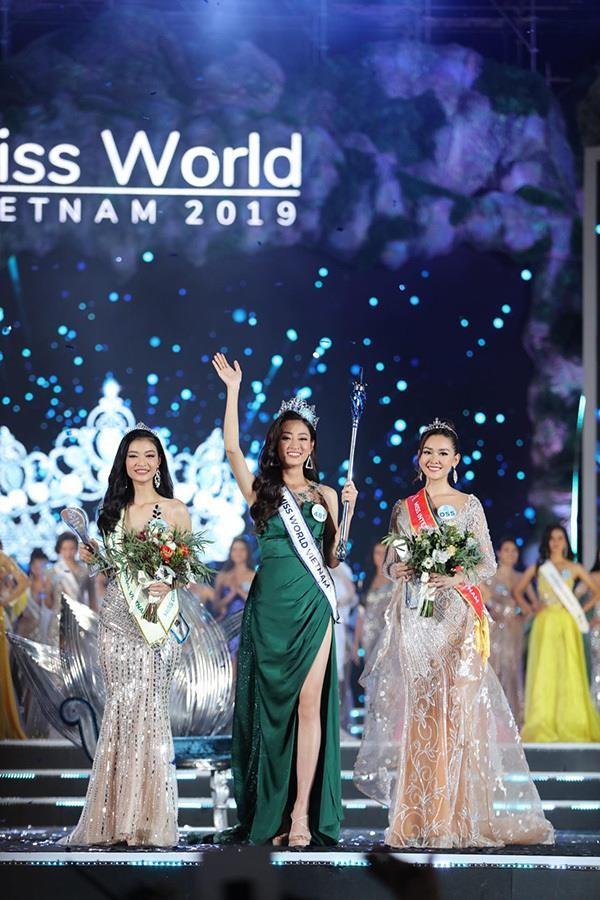 Hoa hậu Lương Thùy Linh lên tiếng thanh minh tin đồn mua giải do có mẹ là giám đốc kho bạc Cao Bằng ảnh 2