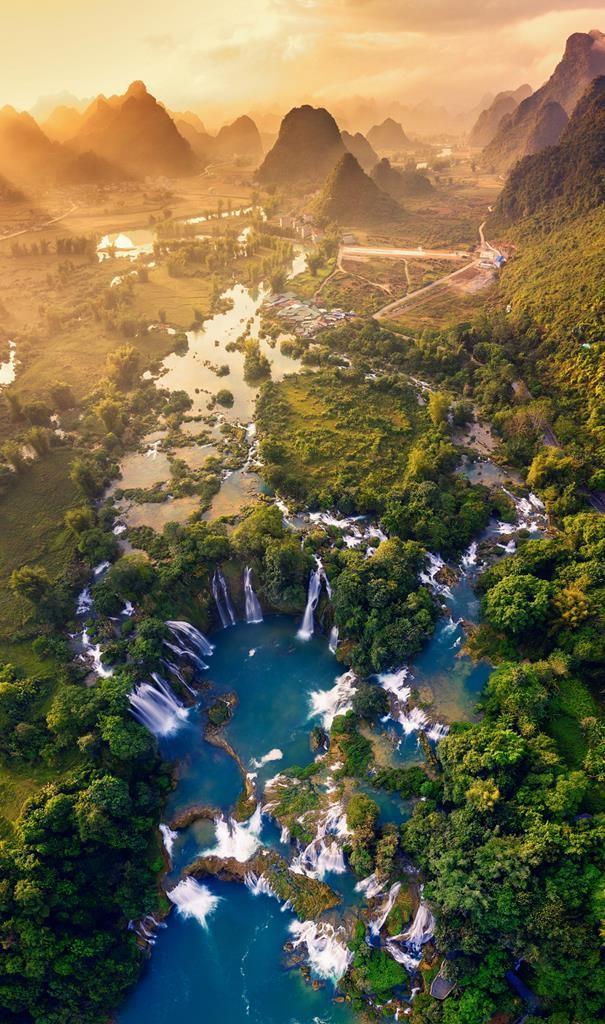 Đẹp mê hồn cảnh sắc Việt Nam nhìn từ trên cao ảnh 1